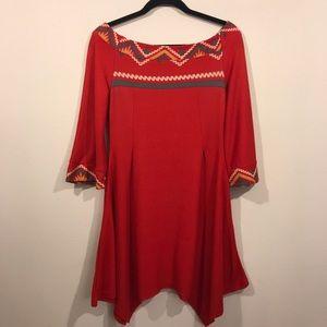 Reborn red dress size L